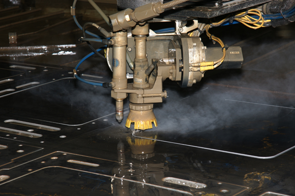 Waterjet Machining in Action